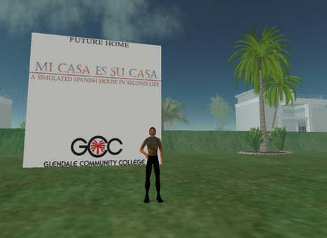 Mi casa es su casa - Second life island for learning Spanish | Technology and language learning | Scoop.it