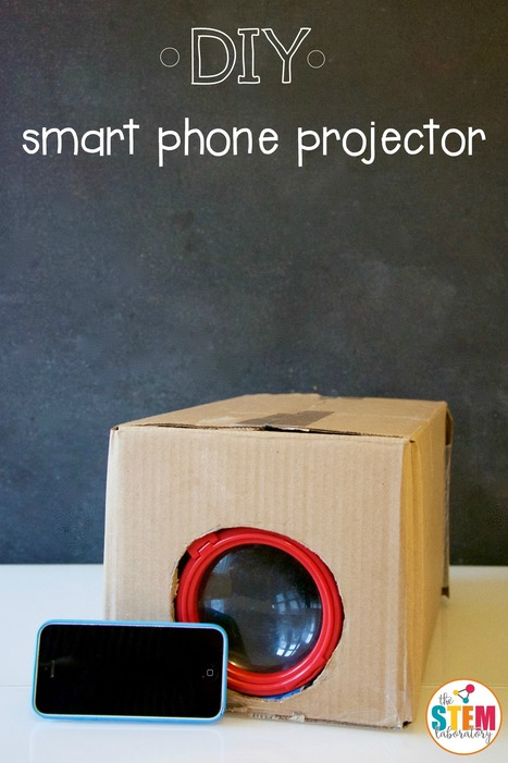 DIY Smart Phone Projector - The Stem Laboratory | Visual & digital texts | Scoop.it