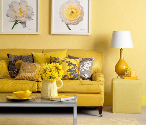 Dipped in Banana: Monochromatic Rooms | Designing Interiors | Scoop.it