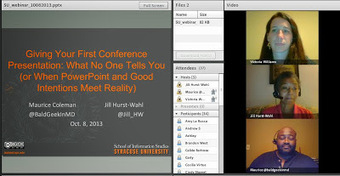 SABC Media Libraries: Introduction to giving your first conference presentation - iSchool at Syracuse University Webinar | The Information Professional | Scoop.it