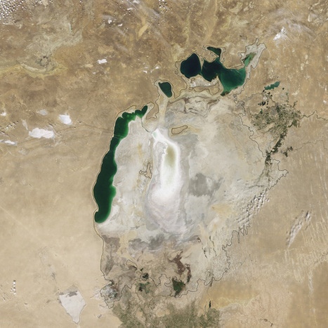 Shocking NASA pics show Aral Sea basin now completely dry | AP HUMAN GEOGRAPHY DIGITAL  STUDY: MIKE BUSARELLO | Scoop.it