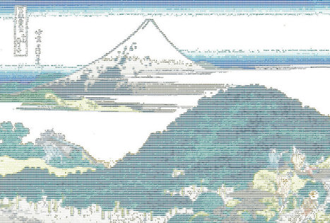 The Circular Pine Trees of Aoyama ASCII | ASCII Art | Scoop.it