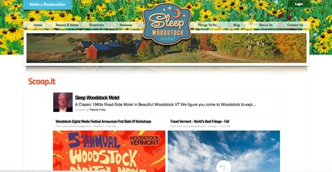Sleep Woodstock Motel | Showcase of custom topics | Scoop.it