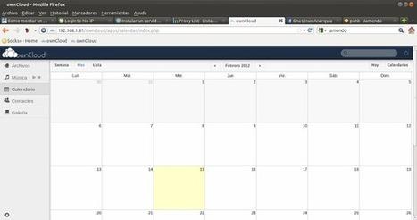Crea tu propio servidor de datos en la nube con OwnCloud | Usemos Linux | Informatica-software | Scoop.it