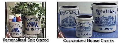 Personalized Salt Glazed Crocks for Sale   Buy Online Personalized Wood Cutting Boards   Scoop.it