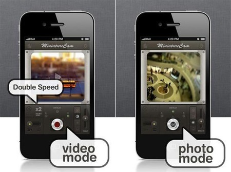 Use MiniatureCam App To Make Your World Smaller | iEnticement | iPhone apps and resources | Scoop.it