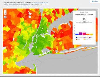 Suburban sprawl cancels carbon footprint savings of dense urban cores | Digital-News on Scoop.it today | Scoop.it