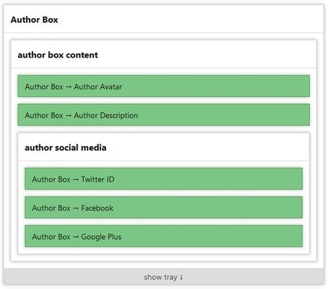 Thesis 2.0 Author Box with Google Authorship for Multiple Authors   WordPress Themes & Plugins   Scoop.it