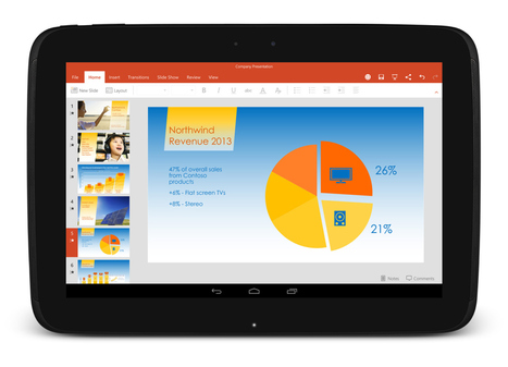 Microsoft's Office For Android Tablets Comes Out Of Preview | Teaching in the XXI Century | Scoop.it