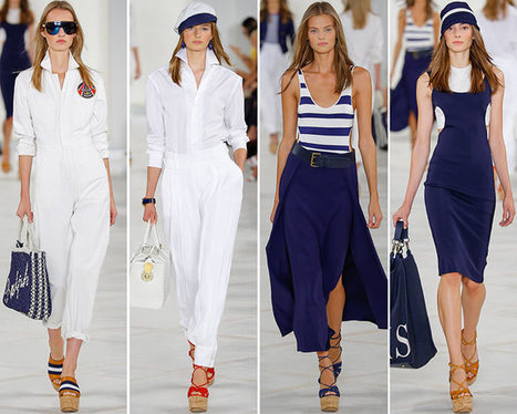 Ralph Lauren Spring/Summer 2016 Collection - New York Fashion Week | Fashionisers | Ladies Community | Scoop.it