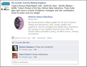 How To Promote Your Jewelry on Facebook | Marketing ideas and color use | Scoop.it
