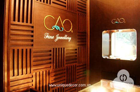 trang trí nội thất shop vàng bạc | gạch lát sân | Scoop.it