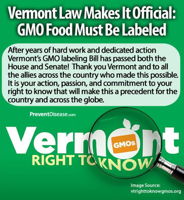 Vermont Law Makes It Official: GMO Food Must Be Labeled | Food & Fibre - Production and Technologies | Scoop.it