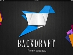 Tweet While You Speak with Purdue's Backdraft iPad App - LaPorteCountyLife.com | Digital Badges | Scoop.it