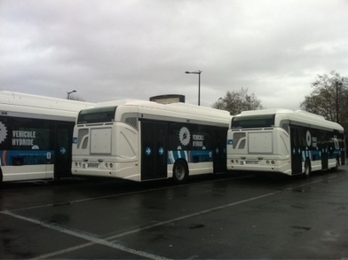 France Bleu | Bordeaux : les bus hybrides en circulation | BIENVENUE EN AQUITAINE | Scoop.it