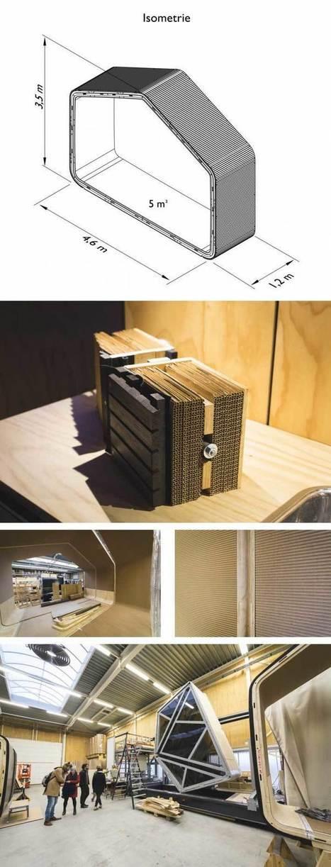 Las casas de cartón y su arquitectura | ARQUITECTURA, nuevos  PROCEDIMIENTOS CONSTRUCTIVOS y MATERIALES | Scoop.it