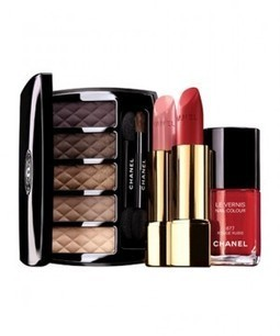 Chanel Holiday Is So Pretty, It Almost Makes Us Excited For Winter | Holiday Makeup | Scoop.it
