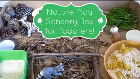 Nature Play for a Rainy Day - Crafting A Green World | Remembering To Play | Scoop.it