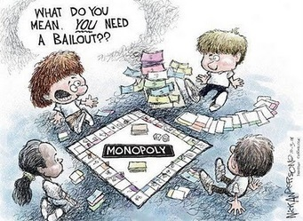 Monopoly & Banks | Intelligent humor | Scoop.it