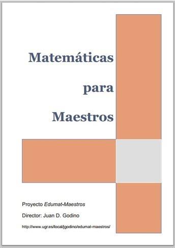 Libro: Matemáticas para Maestros | RedDOLAC | Scoop.it