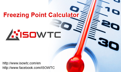 Freezing Point Calculator Software - ISOWTC | Insulation Calculator | Scoop.it