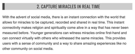 "Christians Can Benefit from Social Media by ""Capturing Miracles,"" Says Ordained Minister 