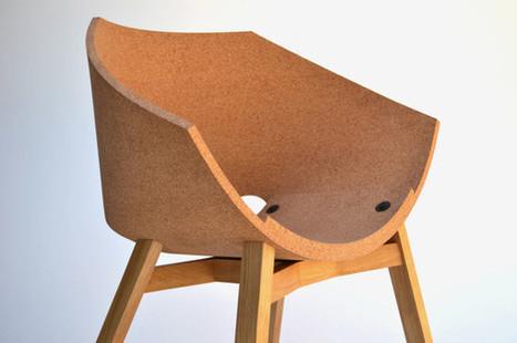 Corkigami Chair by Carlos Ortega Design - Design Milk | Du mobilier, ou le cahier des tendances détonantes | Scoop.it