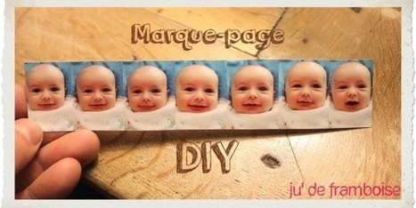 TuTo : Des marques-pages rigolos | Ju2Framboise  DIY : bookmark | Créations, Idées, DIY | Scoop.it