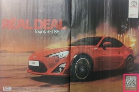 QR code best practice from Toyota | Operations | Scoop.it