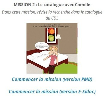 Espace pédagogique : documentation - des serious games pour se former à la recherche documentaire et à l'éducation aux médias et à l'information   CDI EMI   Scoop.it