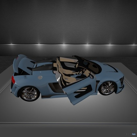 Sport Car 50000 Members Group Gift by Yasum Design | Teleport Hub - Second Life Freebies | Second Life Freebies | Scoop.it