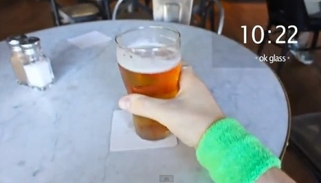 Video: Google Glass will let you do stupid things faster   Augmented Reality Stuff For You   Scoop.it