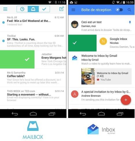 On a testé pour vous... « Inbox », l'e-mail selon Google | Communication digitale | Scoop.it