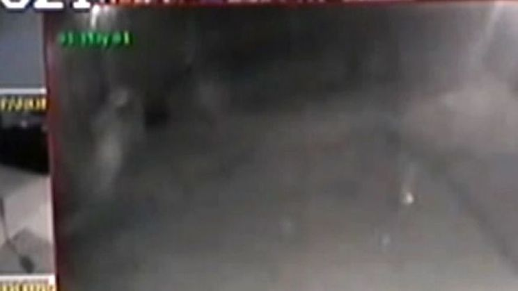 New Mexico police catch a 'ghost' on camera