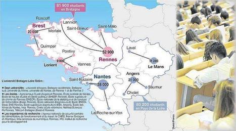 L'Université Bretagne-Loire est en ordre de marche | Veille BU | Scoop.it