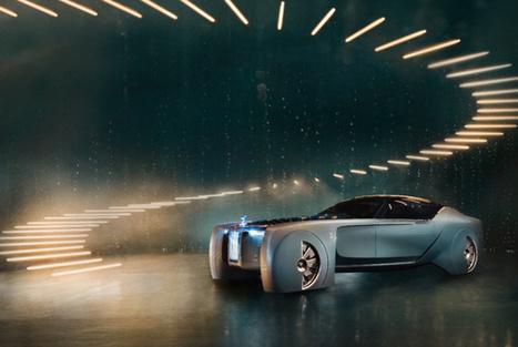 Autonome, électrique, intelligente : Rolls-Royce présente sa voiture du futur | Post-Sapiens, les êtres technologiques | Scoop.it