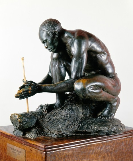 Sculpture of an African Fire-Maker Isn't as 'Real' as You Might Think - The Root | Building Community Capacity | Scoop.it