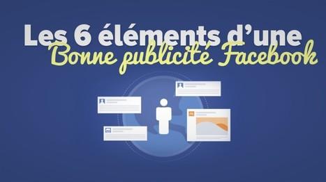 Les 6 éléments d'une bonne publicité Facebook   Veille : Référencement Payant SEA   Scoop.it