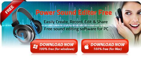 Herramienta para editar y grabar audio | Educacion, ecologia y TIC | Scoop.it