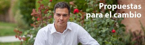 Propuestas para el cambio - Pedro Sánchez Castejón   Pedro Sánchez   Scoop.it