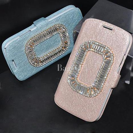 $ 35.79 Delectable Rhinestone Carrying Case for Samsung Galaxy S3 | fashion | Scoop.it