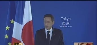 [Eng] Sarkozy est arrivé au Japon pour discuter avec Kan de la situation nucléaire | Kyodo News | Japon : séisme, tsunami & conséquences | Scoop.it