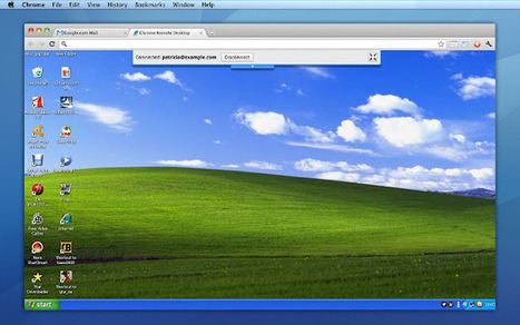 Chrome Remote Desktop BETA | Hub Manager | Scoop.it