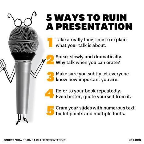 How to Give a Killer Presentation   Prise de parole en public   Scoop.it