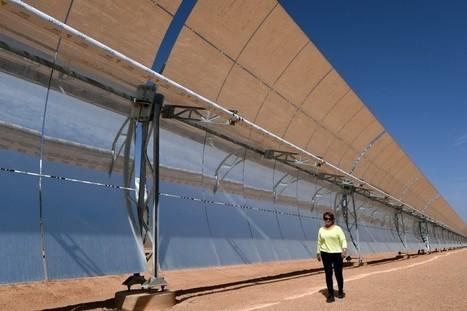 Le Maroc inaugure la plus grande centrale solaire du monde   Economie verte   Scoop.it
