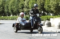 Scooter side-car LML Tristar : premier contact | actualités | Scooter Infos | Scooter's news | Scoop.it