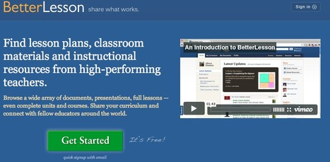 BetterLesson: Share What Works | Free K-12 Lesson Plans, materials and resources | Technology Ideas | Scoop.it