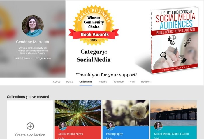 Google+: A quick look at Collections | Business in a Social Media World | Scoop.it