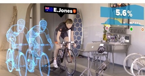 Zwift merges indoor fitness with massive multi-player online gaming | BT | Scoop.it