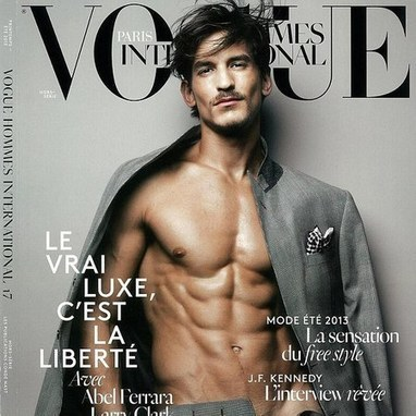 Have French Vogue gone too far with naked male cover star? - handbag.com   Moda Francesa   Scoop.it